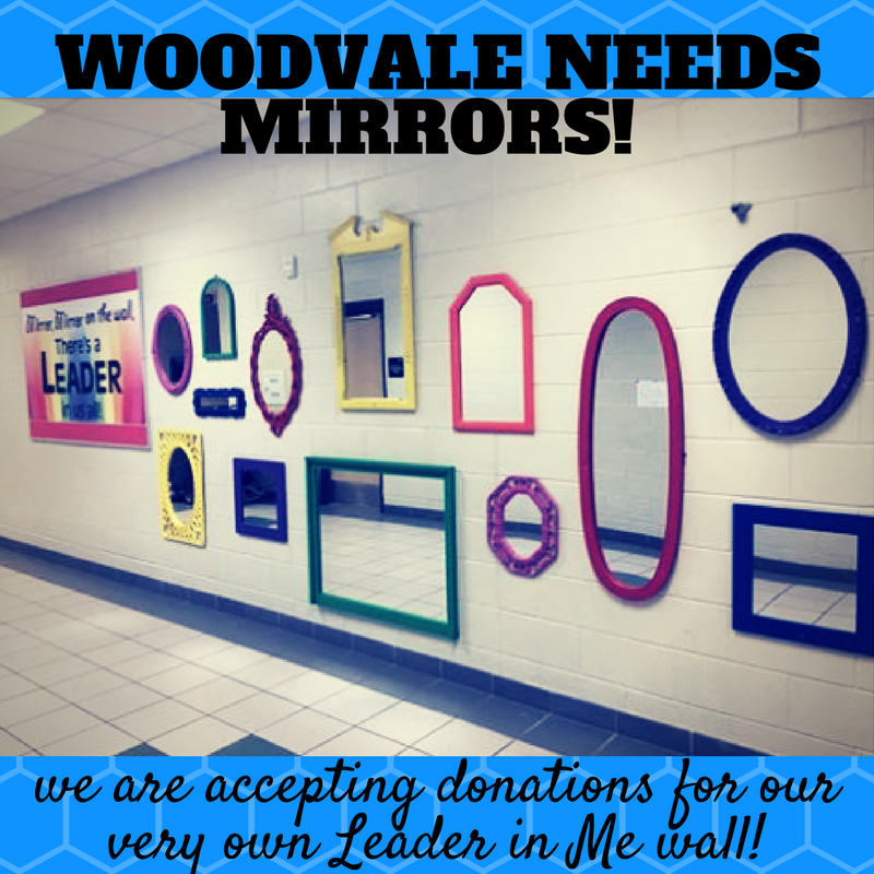 Woodvale Elementary PTC WOODVALE-NEEDS I can see the leader in ME!