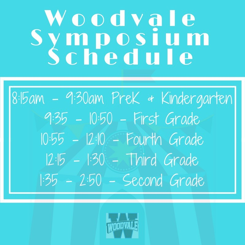 Woodvale Elementary PTC symp-sched Woodvale Symposium needs volunteers!