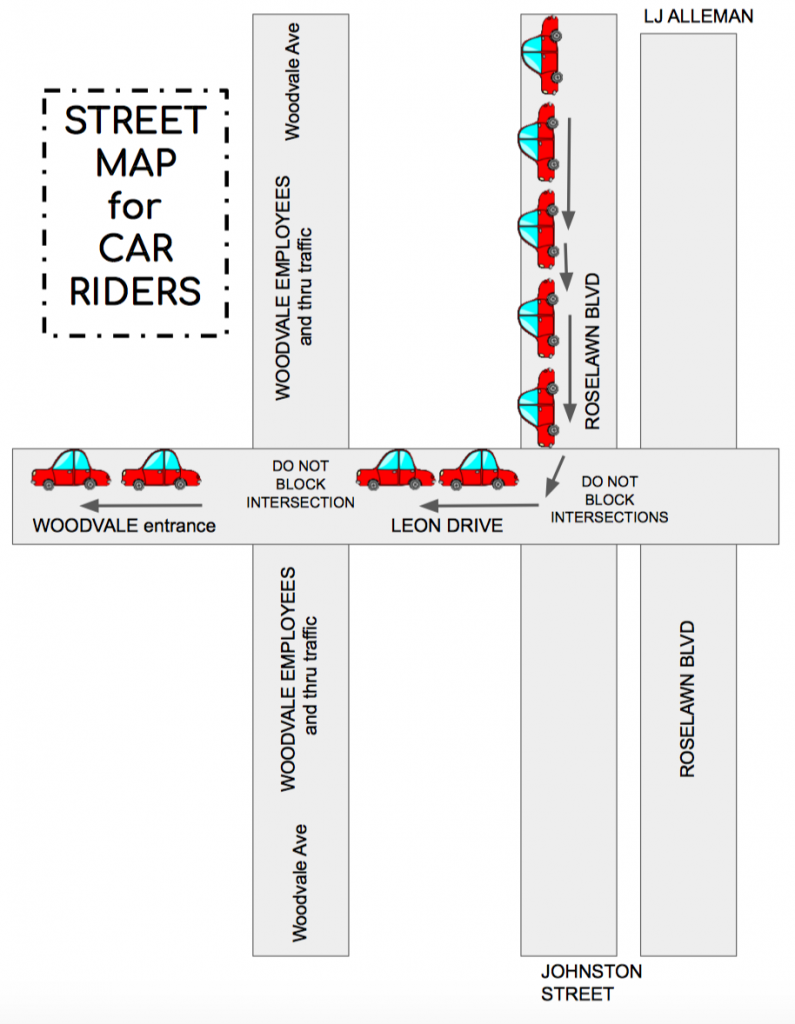 Woodvale Elementary PTC Street-Map-795x1024 New Car Rider and Bus Procedures